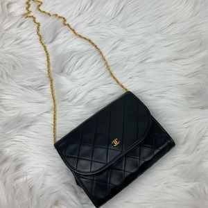 Chanel classic metalese shoulder bag/ clutch